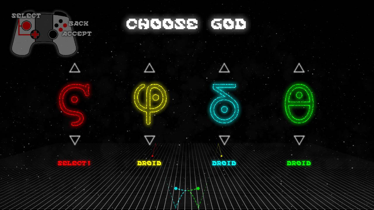 Screenshot of Gravity Gods