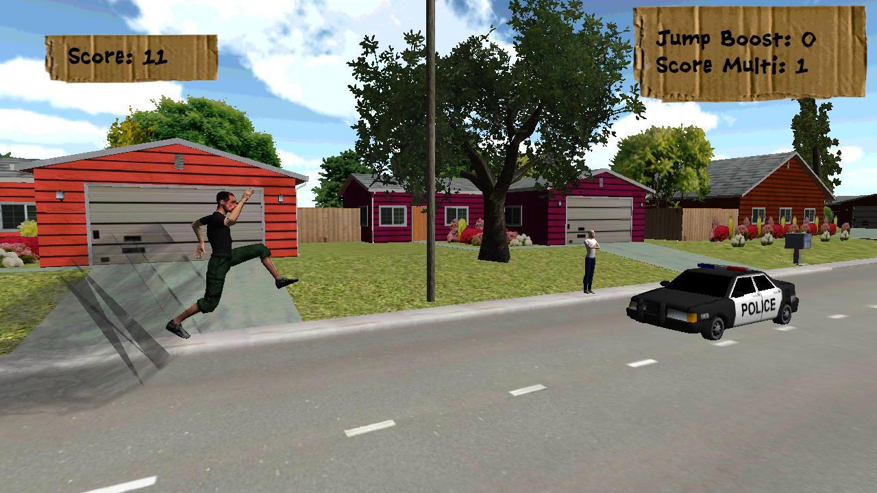 Screenshot of Car Jumper