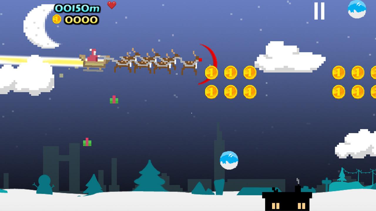 Screenshot of Sleighrunner