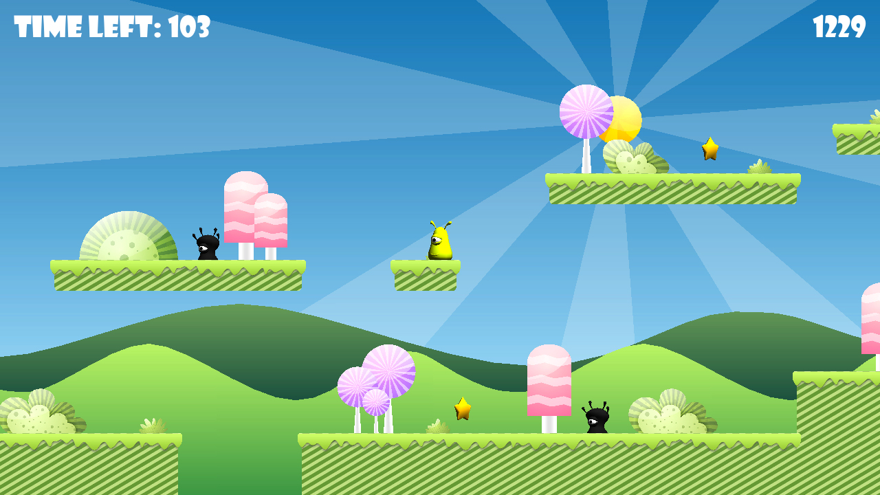 Screenshot of Jelly Bounce