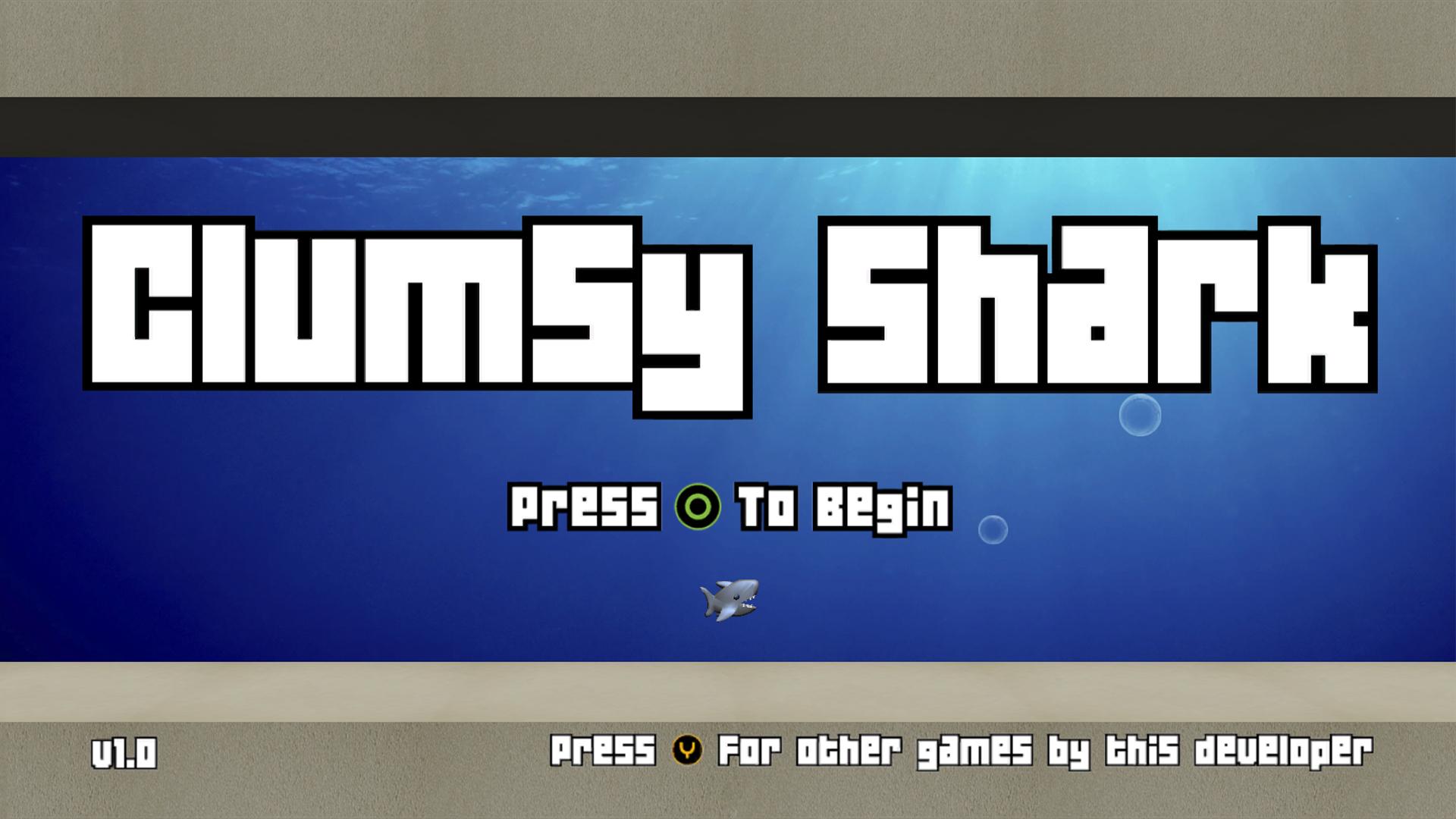 Screenshot of Clumsy Shark