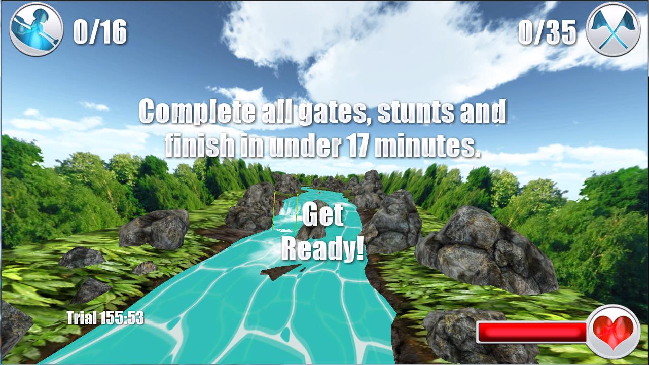 Screenshot of WhiteWater 3D