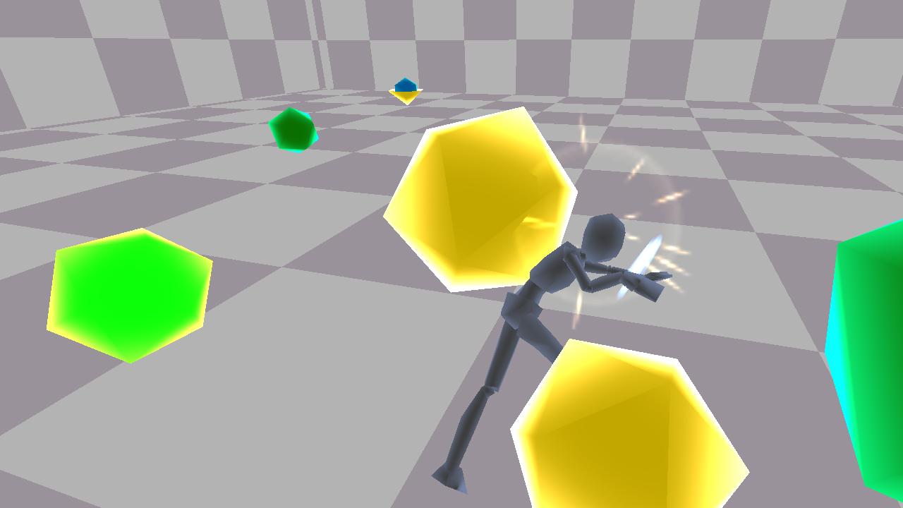 Screenshot of Midnight Tinkering Combat Demonstration