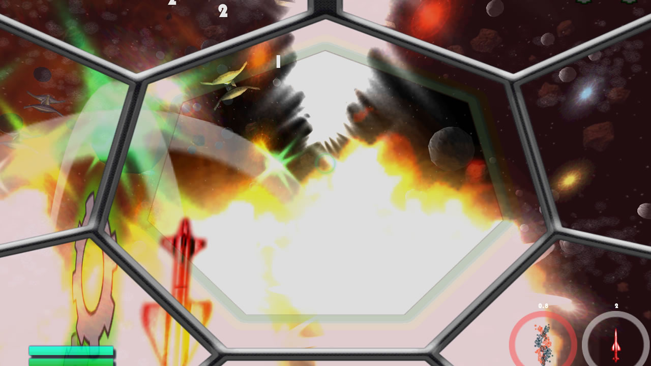 Screenshot of Asteroid Ace