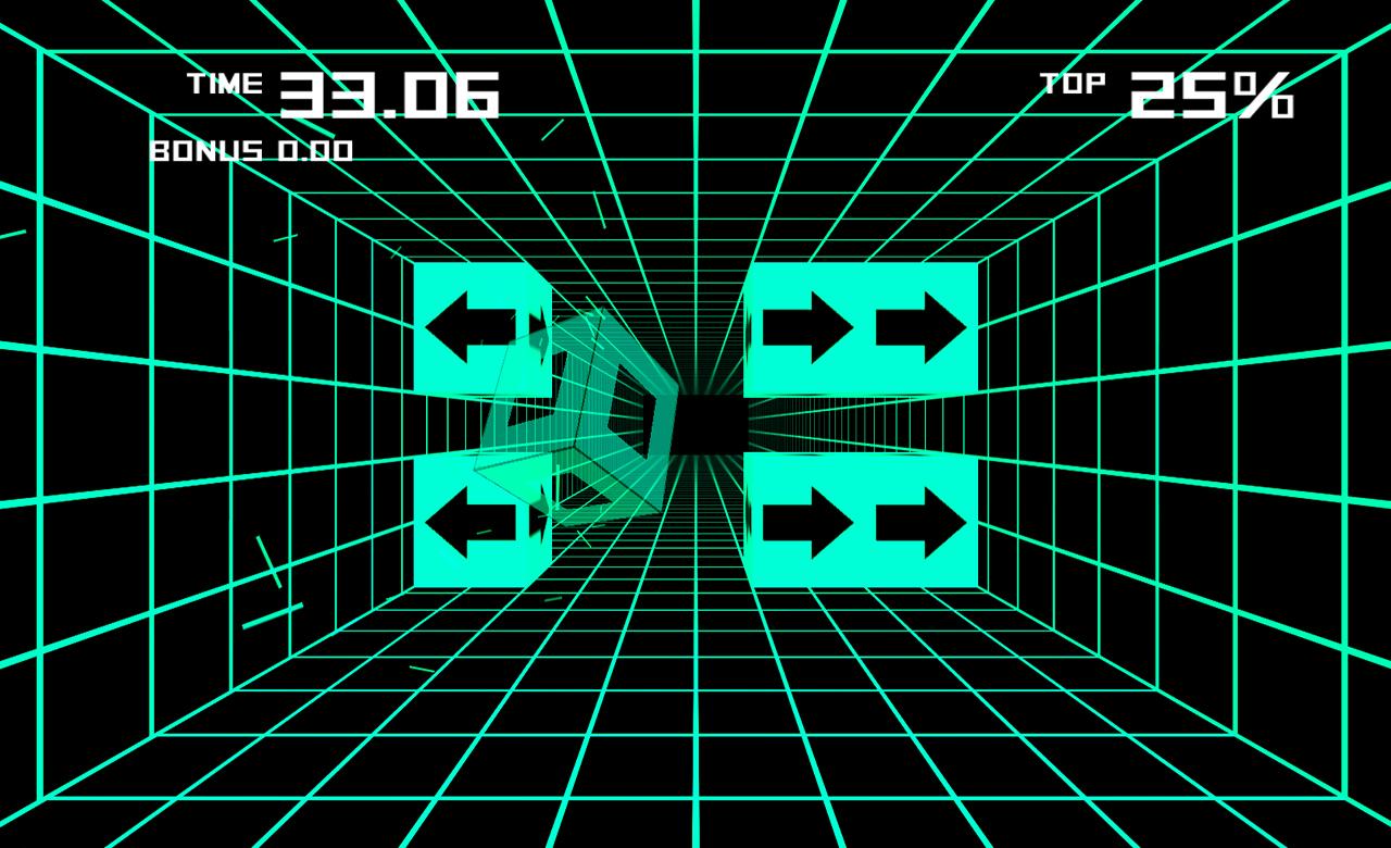 Screenshot of Super Grid Run
