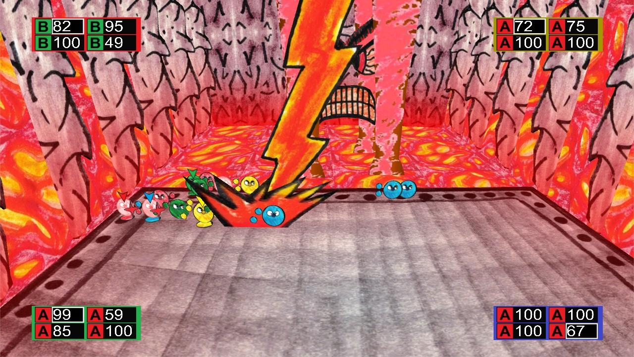 Screenshot of Wrecking Balls Arena