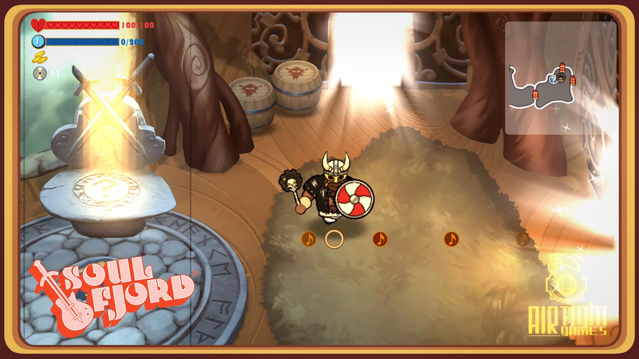 Screenshot of Soul Fjord