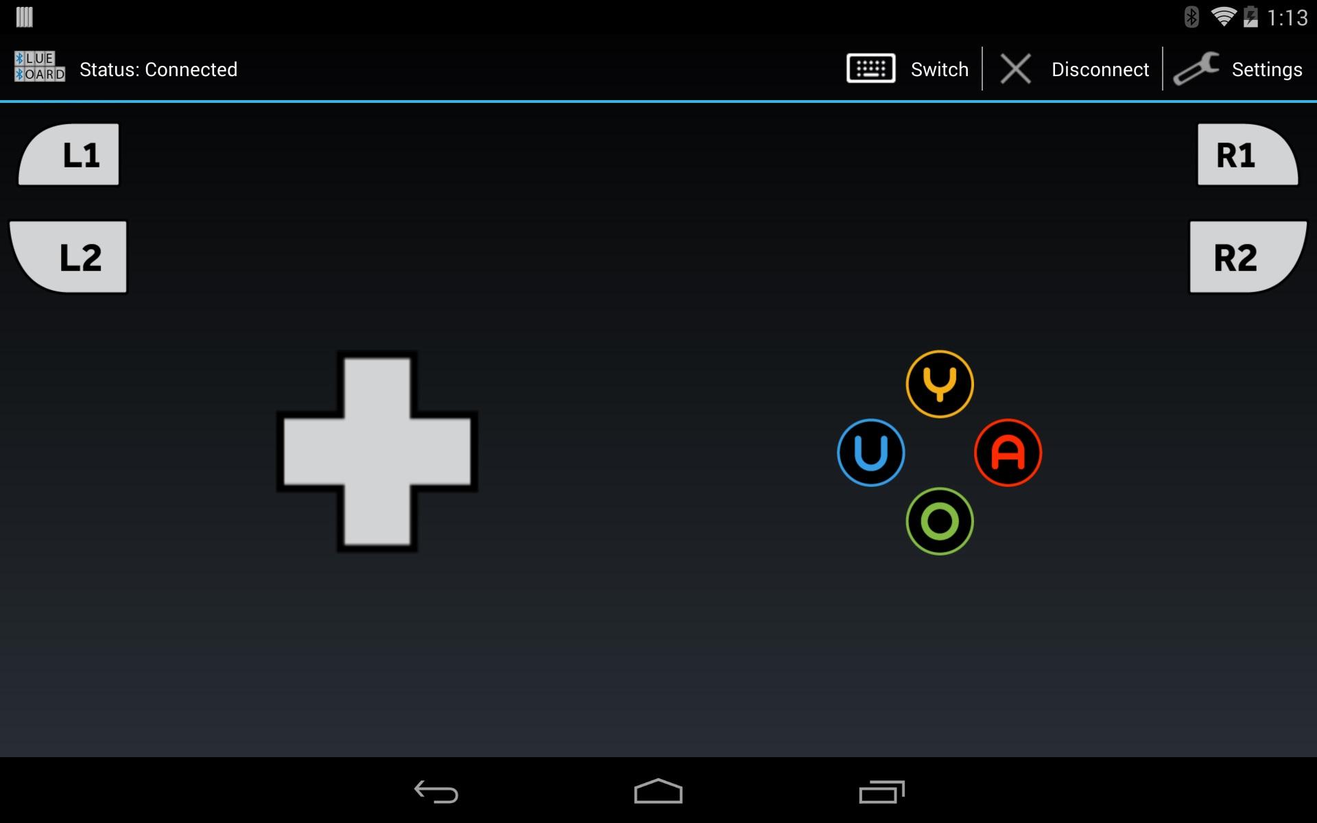 Screenshot of Blue Board