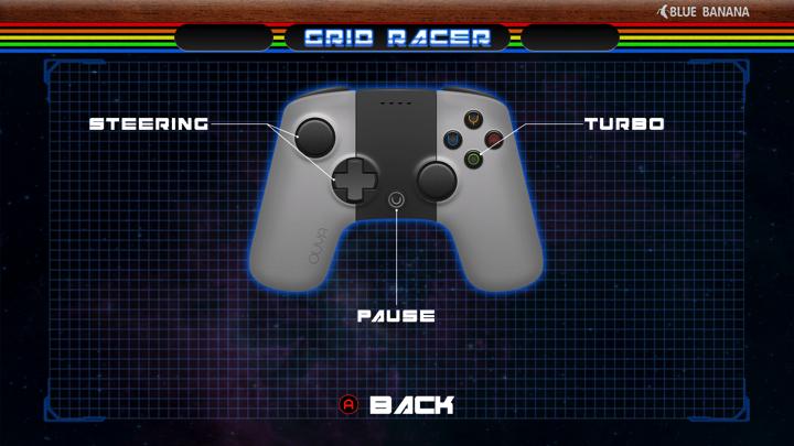 Screenshot of Grid Racer