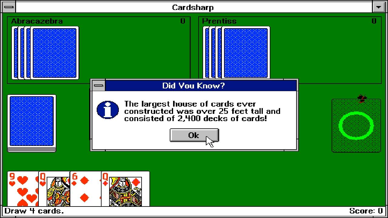 Screenshot of Cardsharp