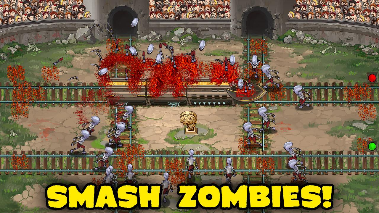 Screenshot of Zombies & Trains!