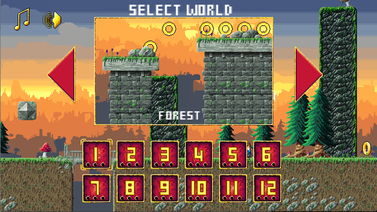 Screenshot of Super Daddio 2