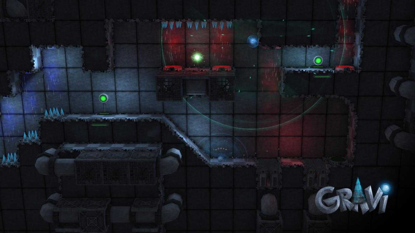 Screenshot of Gravi