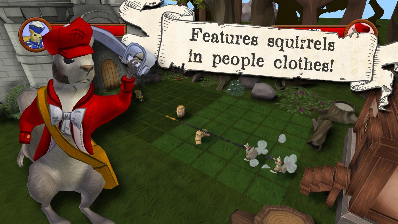 Screenshot of Acorn Assault