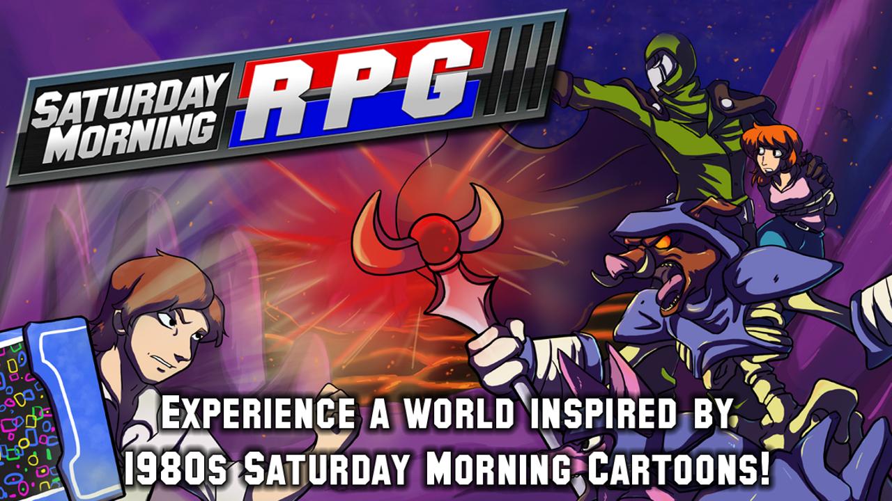 Screenshot of Saturday Morning RPG