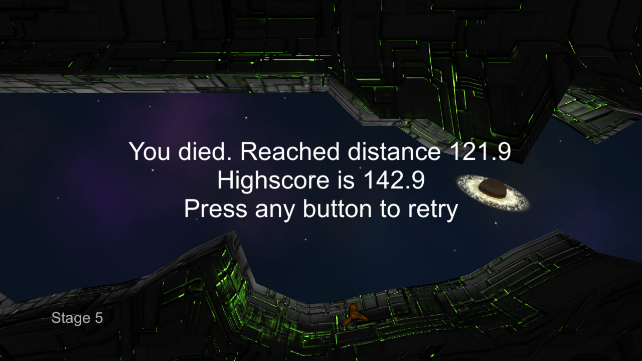 Screenshot of Escape from Space
