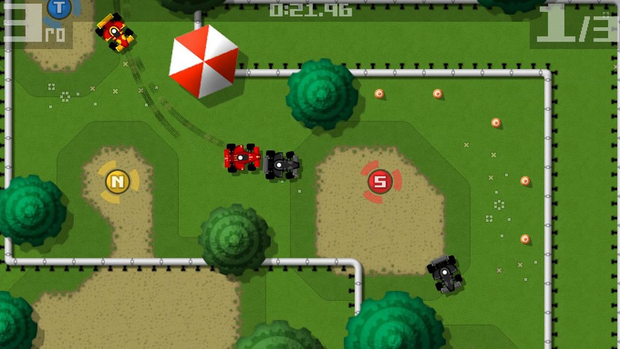 Screenshot of Retro Racing