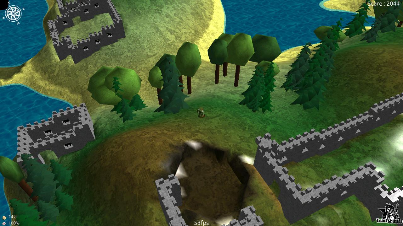 Screenshot of Lead Soldier 3D