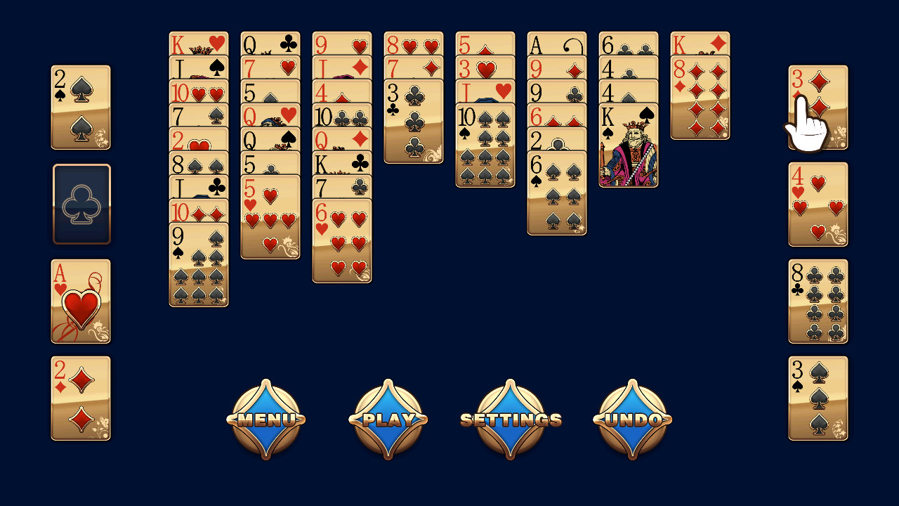 Screenshot of Freecell Solitaire