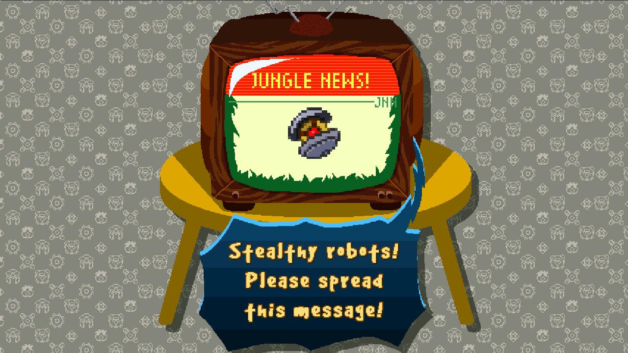 Screenshot of Monkey vs Robots
