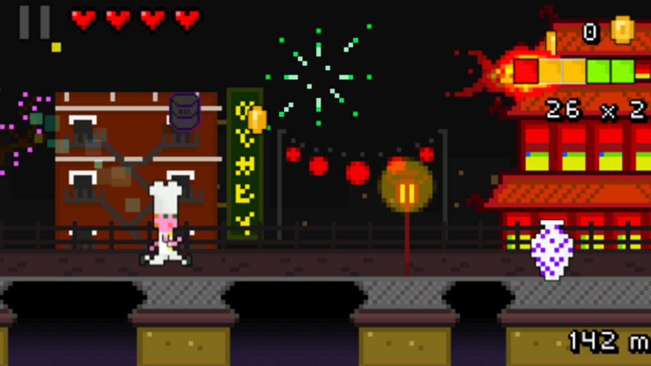 Screenshot of Pixel Rush
