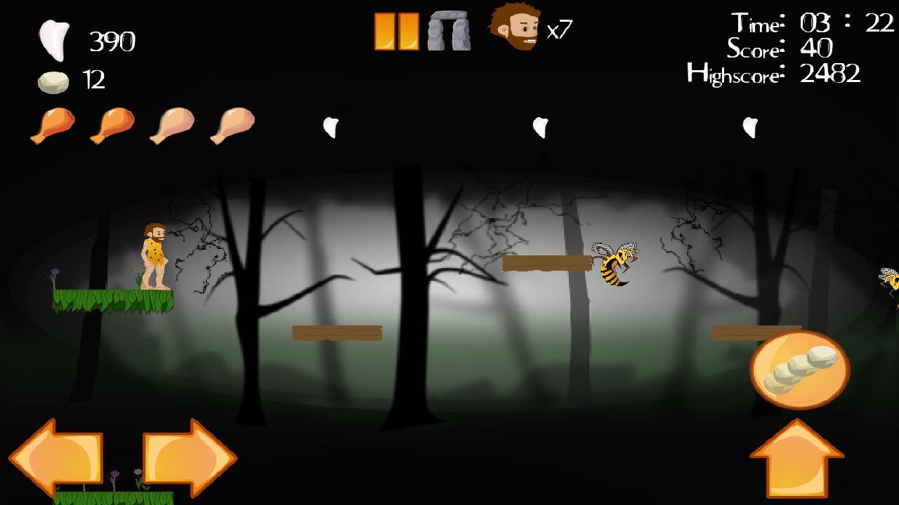 Screenshot of Angry Joe:Prehistoric