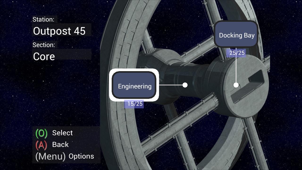 Screenshot of Space Repair Inc.