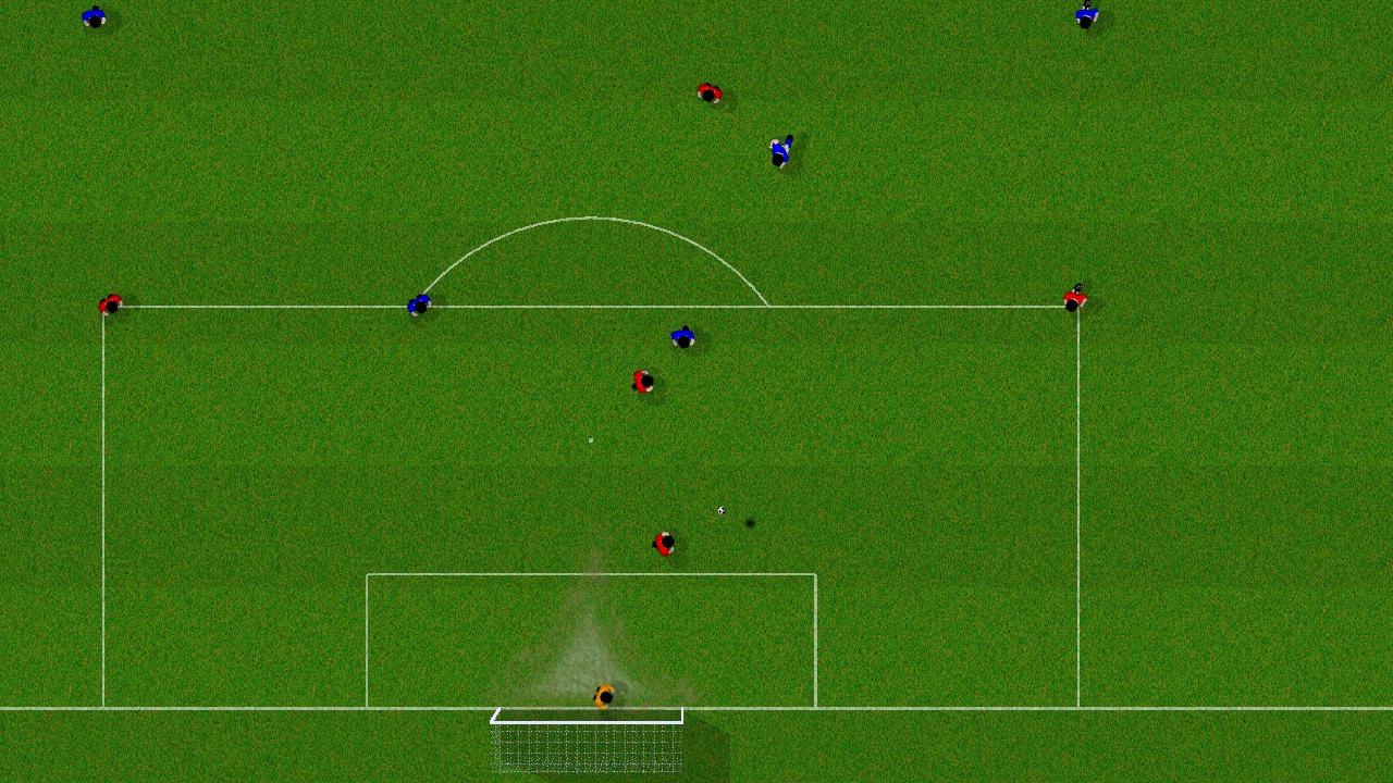 Screenshot of Natural Soccer: OUYA Edition