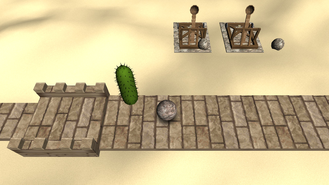 Screenshot of Sansarom 3D