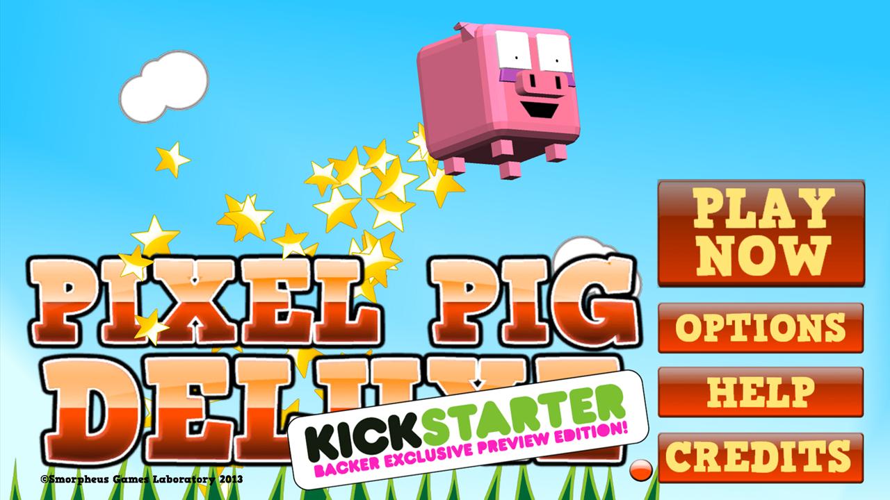 Screenshot of Pixel Pig Deluxe