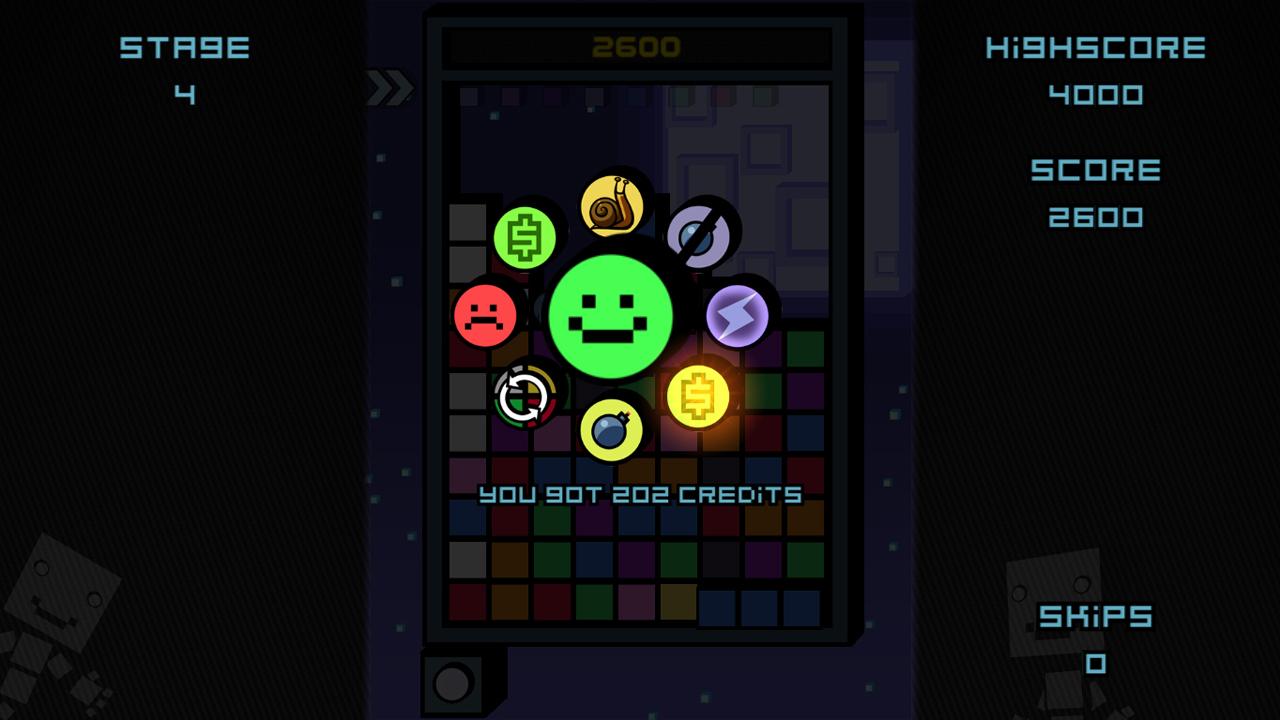 Screenshot of SlideTapPop