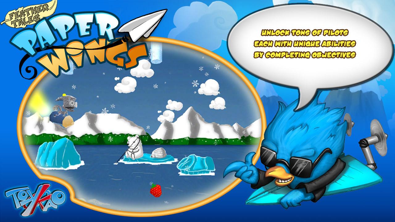 Screenshot of Paper Wings