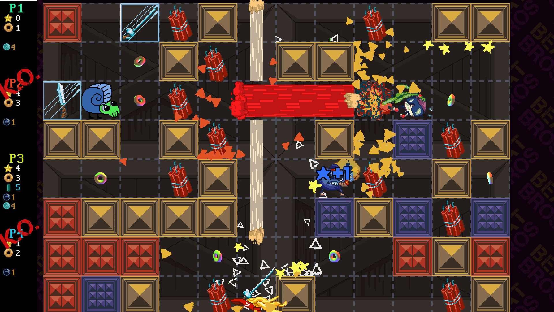 Screenshot of Beat Bros