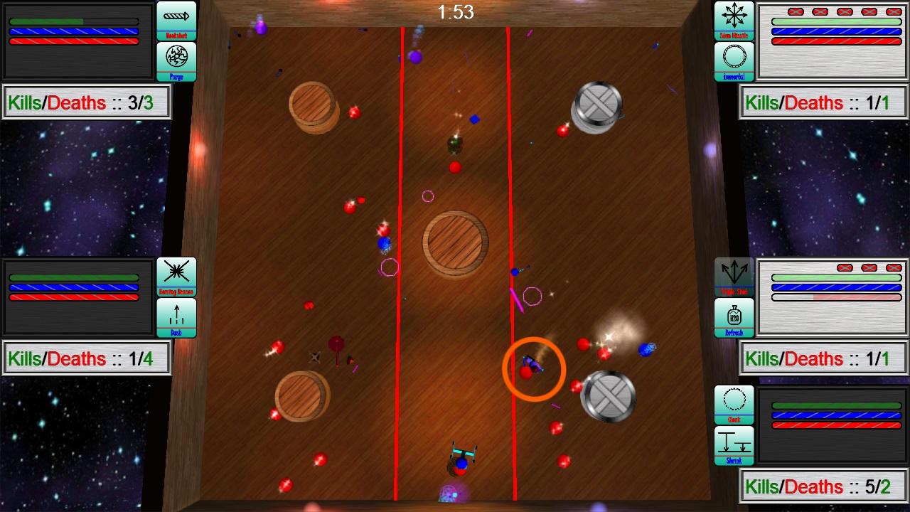 Screenshot of Dodgebrawl