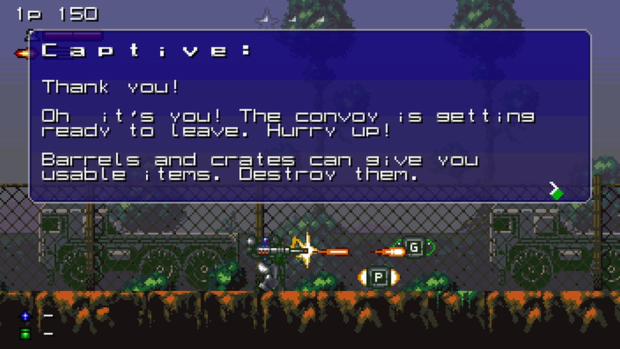 Screenshot of Heavy Recoil - Convoy Chaser
