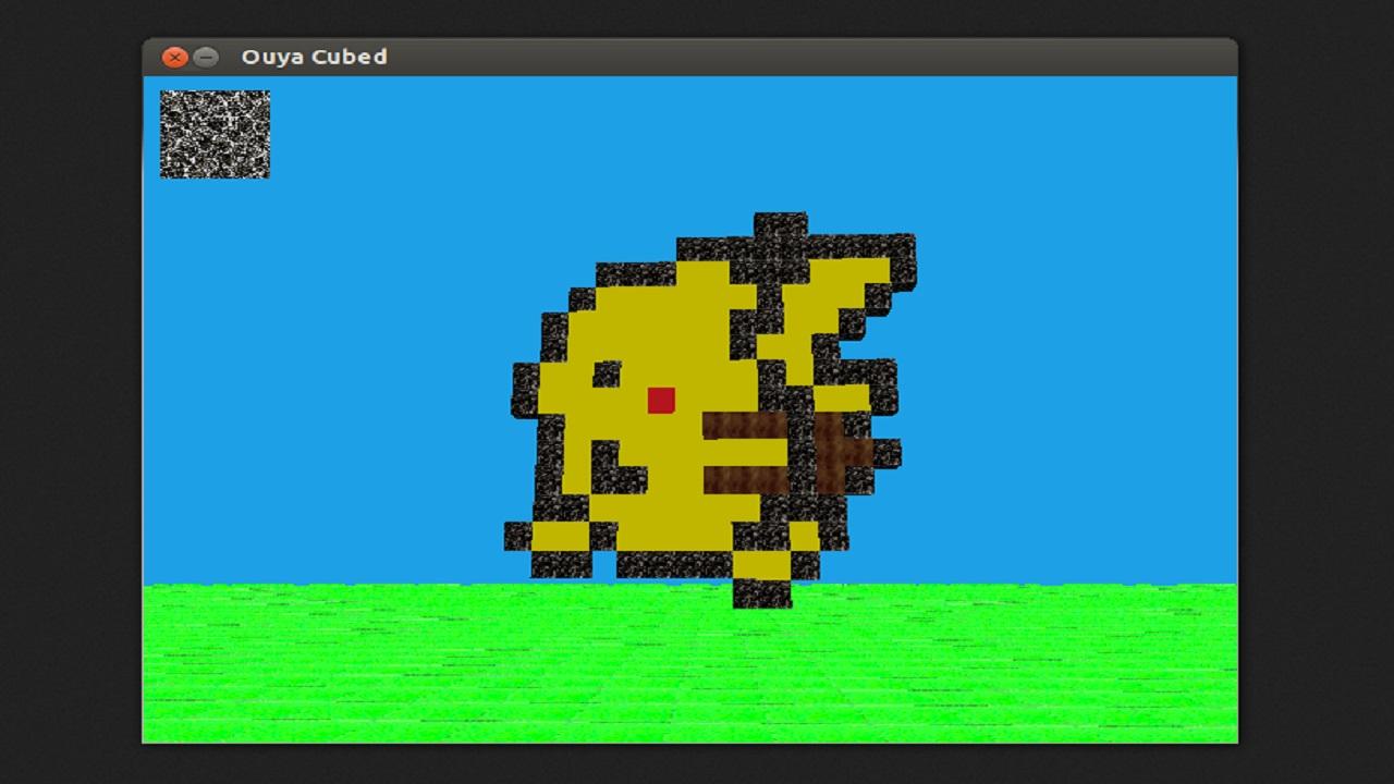 Screenshot of OUYA Cubed