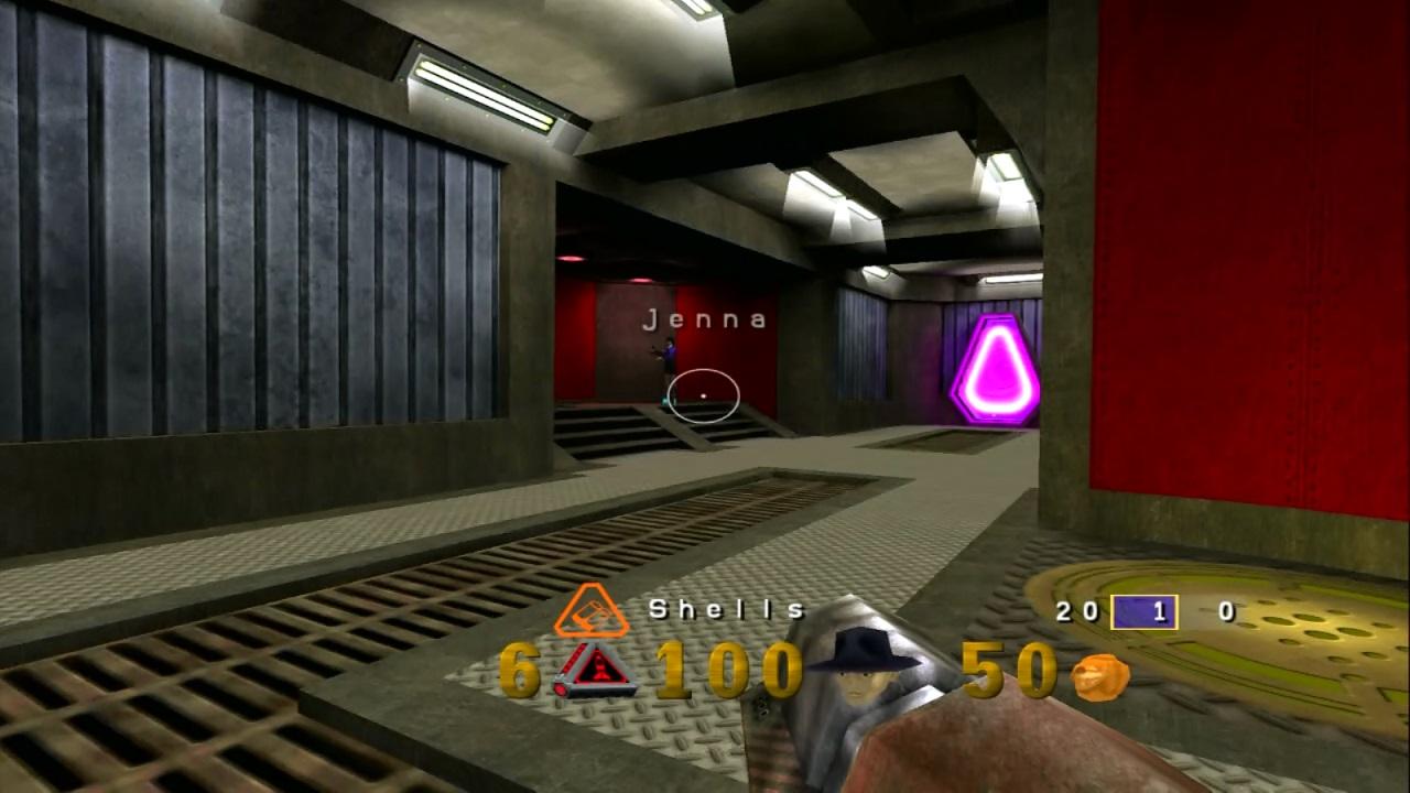 Screenshot of OpenArena: OUYA EDITION