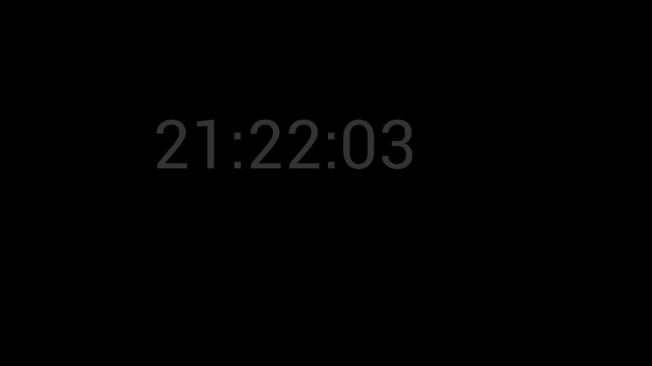 Screenshot of Clock
