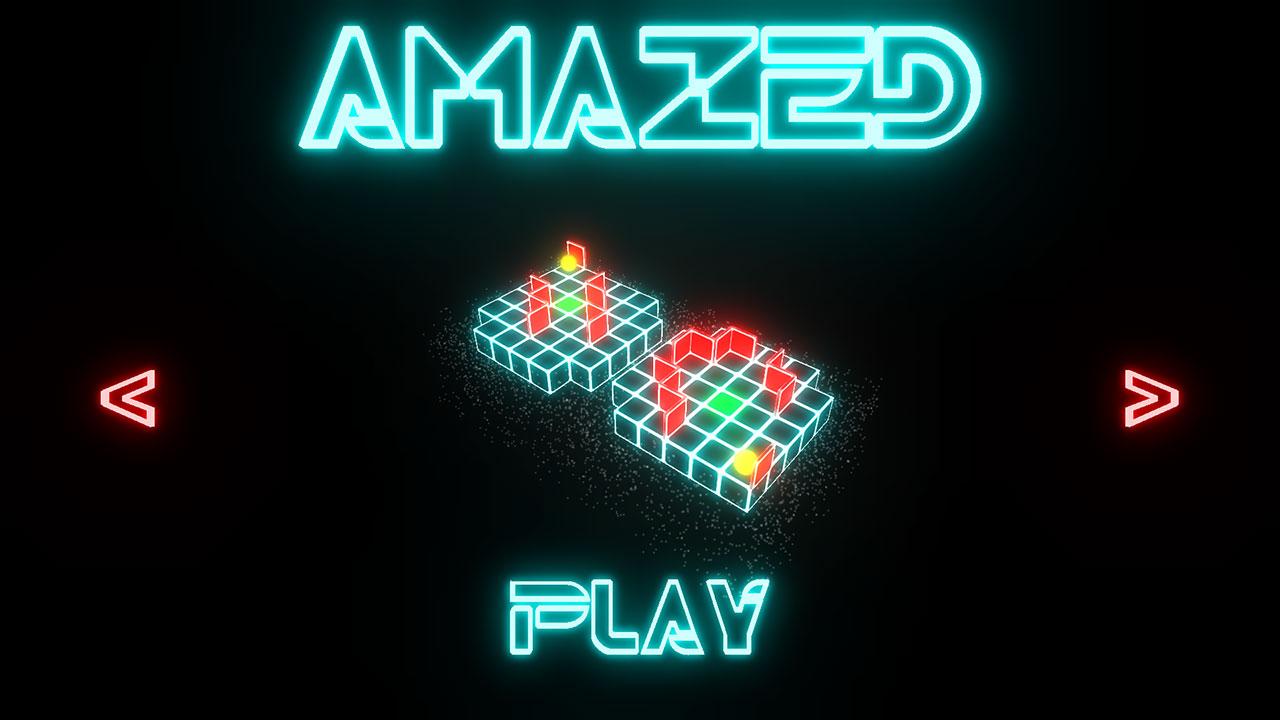 Screenshot of Amazed