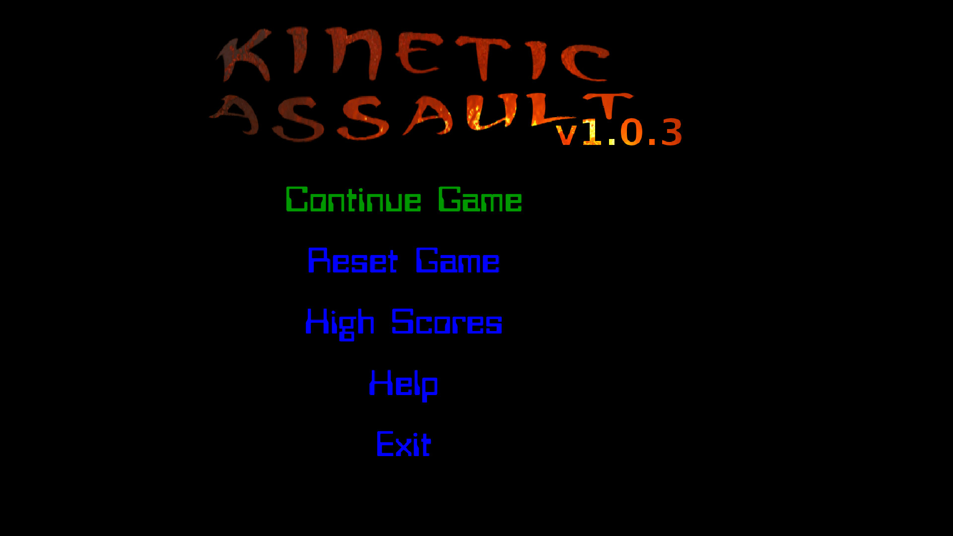 Screenshot of Kinetic Assault