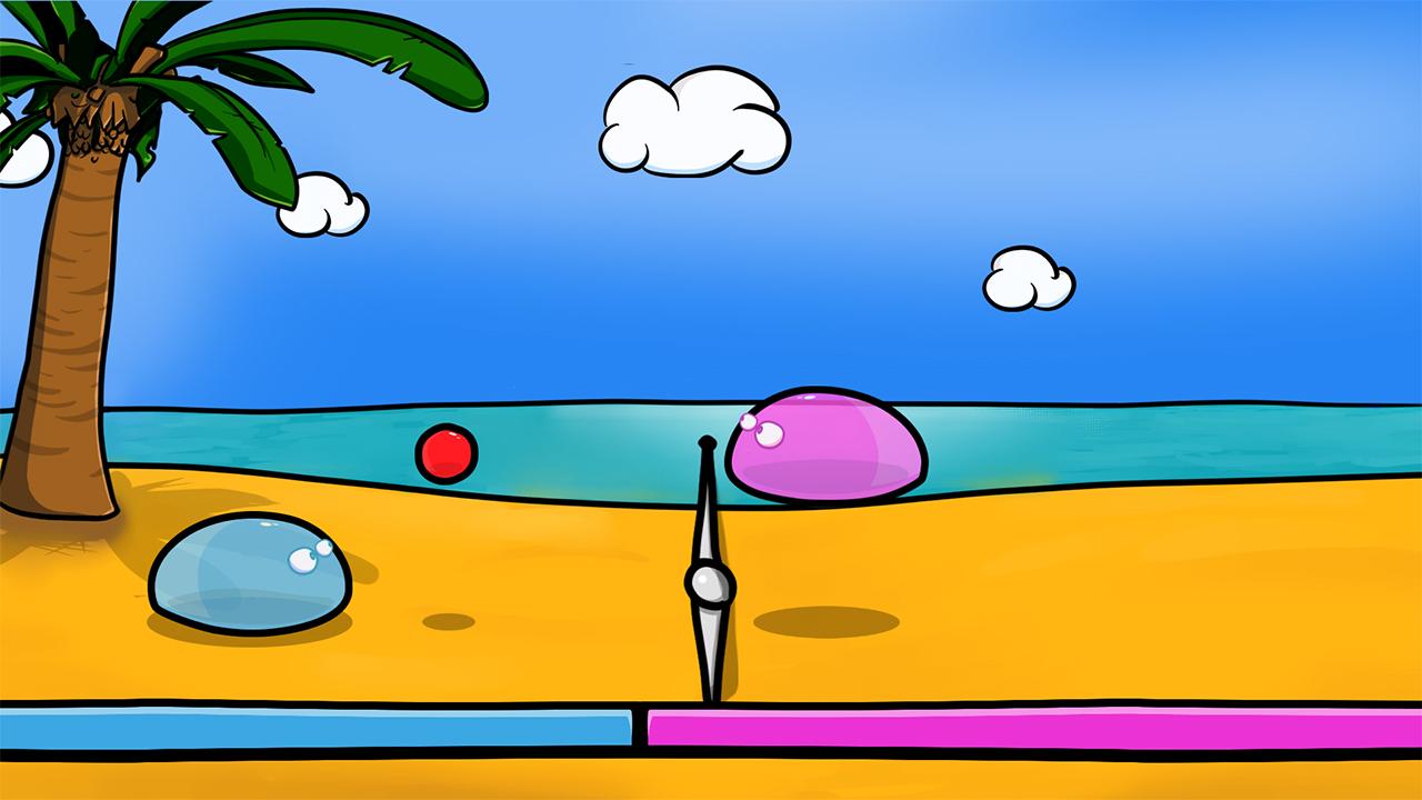 Screenshot of SlimeBall