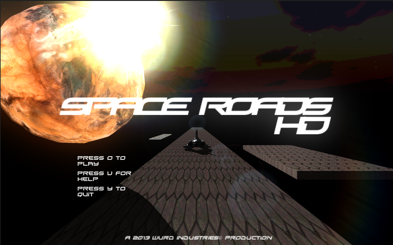 Screenshot of Space Roads